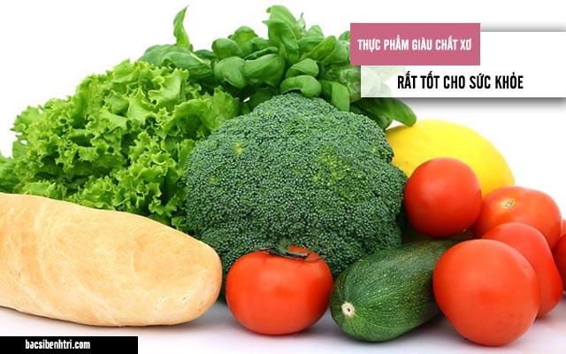Thực phẩm giàu chất xơ tốt cho sức khỏe