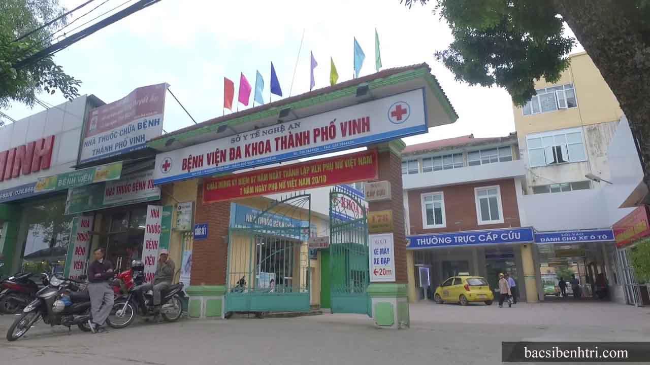 chữa bệnh trĩ tại Nghệ An
