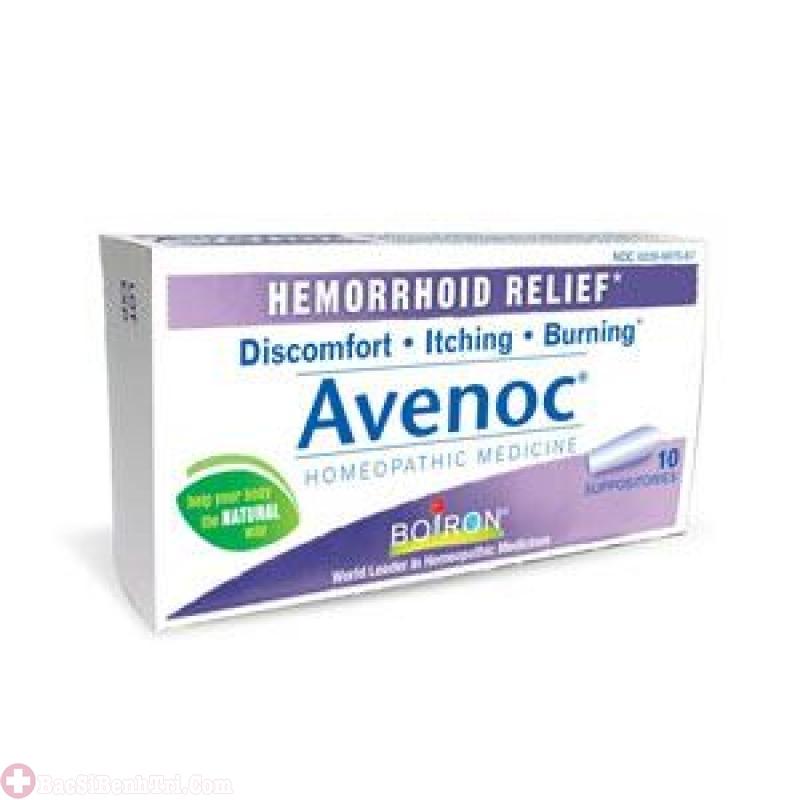 thuốc trĩ nhét hậu môn Avenoc