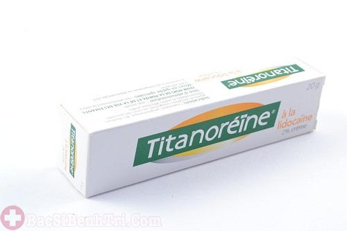 Thuốc bôi trĩ cho trẻ em Titanoreine