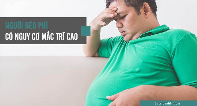 bệnh trĩ do béo phì