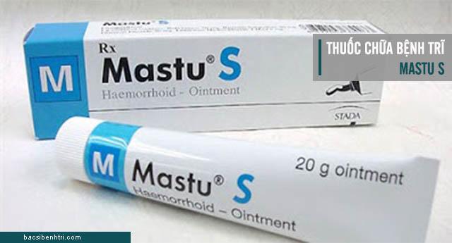 thuốc chữa bệnh trĩ Mastu S