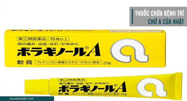 thuốc chữa bệnh trĩ chữ A của Nhật