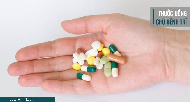 các loại thuốc uống chữa bệnh trĩ