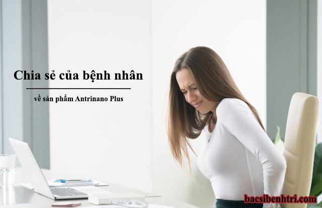 Chia sẻ của người đã sử dụngAntrinano Plus