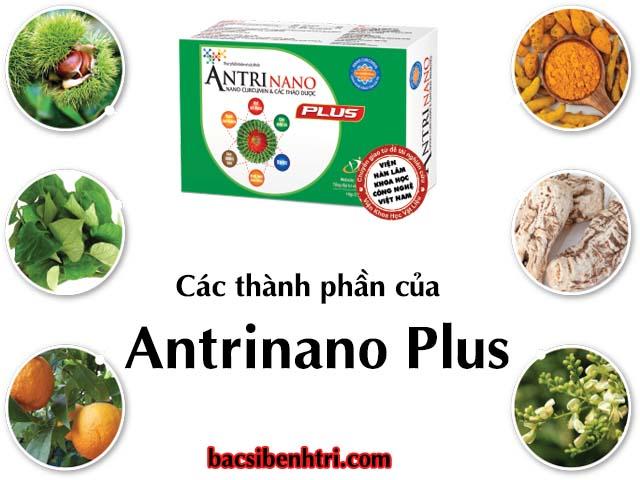 Thành phần của thuốc Antrinano