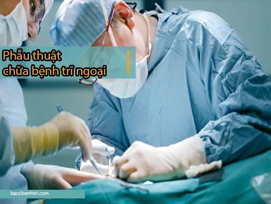 điều trị trĩ ngoại