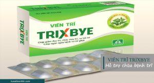 Vien-tri-trixbye có tác dụng hỗ trợ điều trị bệnh trĩ