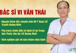 Bác sĩ Chuyên khoa I Vi Văn Thái