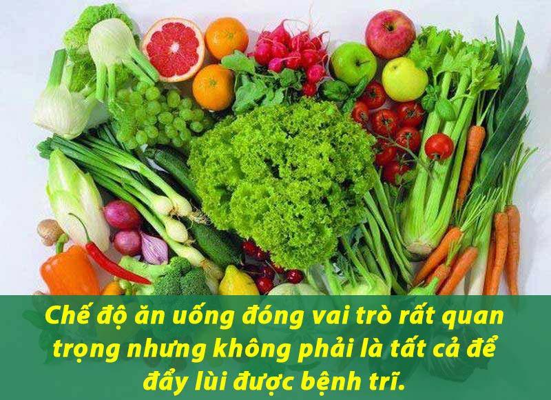 Chế độ dinh dưỡng đóng vai trò quan trọng trong đẩy lùi bệnh trĩ